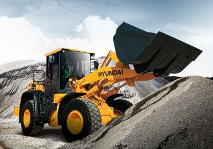 Hyundai loaders
