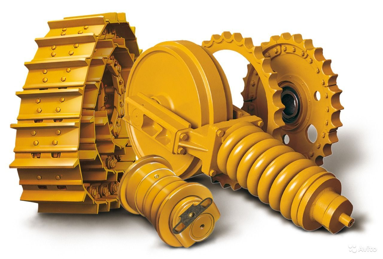 Spare parts for the undercarriage Komatsu