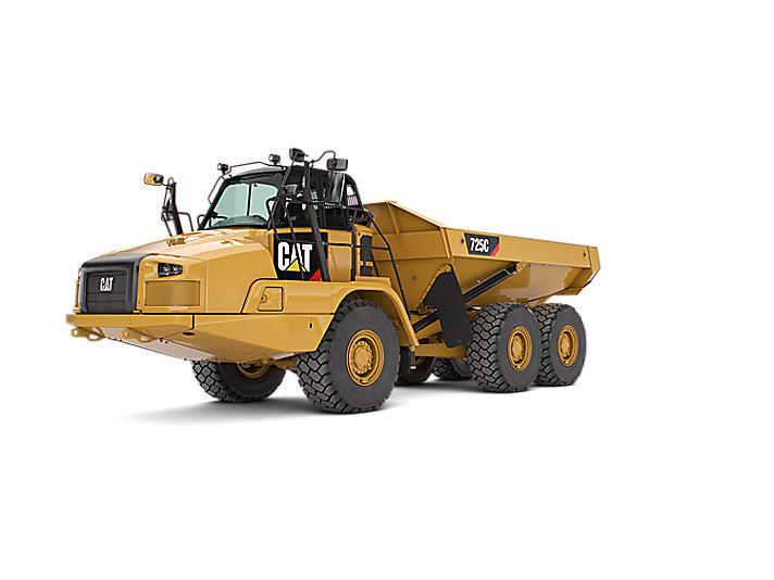 Запчасти для Сочлененного самосвала Caterpillar 745C