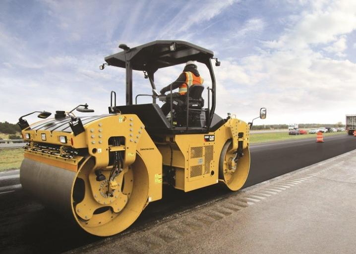 Запчасти для дорожных катков Caterpillar