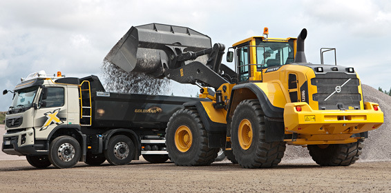 Spare parts for wheel loader Volvo